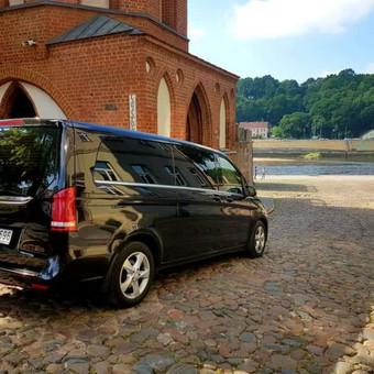 Mercedes automobilių nuoma su vairuotoju / Transportas vestuvėms / Darbų pavyzdys ID 762975