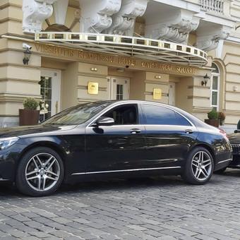 Mercedes automobilių nuoma su vairuotoju / Transportas vestuvėms / Darbų pavyzdys ID 762979