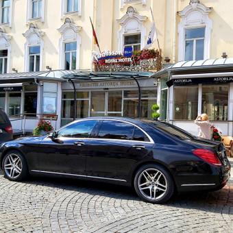 Mercedes automobilių nuoma su vairuotoju / Transportas vestuvėms / Darbų pavyzdys ID 762981