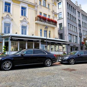Mercedes automobilių nuoma su vairuotoju / Transportas vestuvėms / Darbų pavyzdys ID 762985