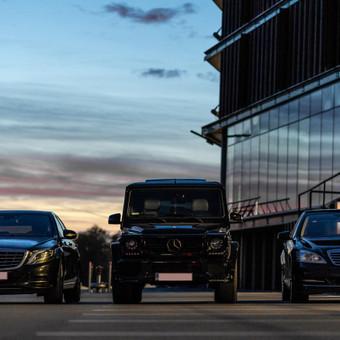 Mercedes automobilių nuoma su vairuotoju / Transportas vestuvėms / Darbų pavyzdys ID 762989