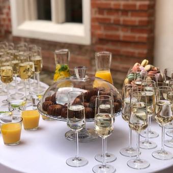 Šventė Stilingai - vaišių/šampano staliukas + aptarnavimas / Gabrielė Venckūnaitė / Darbų pavyzdys ID 768789