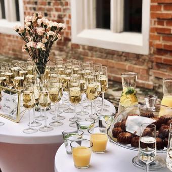 Šventė Stilingai - vaišių/šampano staliukas + aptarnavimas / Gabrielė Venckūnaitė / Darbų pavyzdys ID 768791