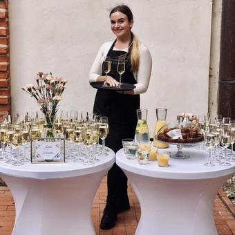 Šventė Stilingai - vaišių/šampano staliukas + aptarnavimas / Gabrielė Venckūnaitė / Darbų pavyzdys ID 768793