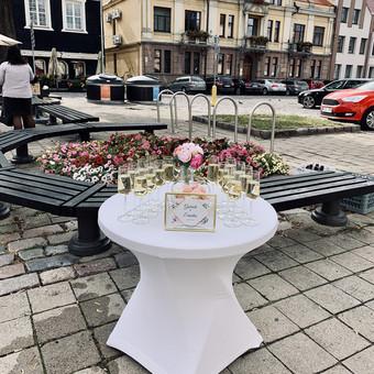 Šventė Stilingai - vaišių/šampano staliukas + aptarnavimas / Gabrielė Venckūnaitė / Darbų pavyzdys ID 768817