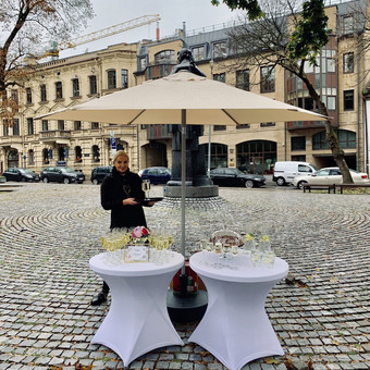 Šventė Stilingai - vaišių/šampano staliukas + aptarnavimas / Gabrielė Venckūnaitė / Darbų pavyzdys ID 768829