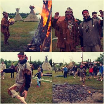 Didžiojo indėnų vado vaidmenyje