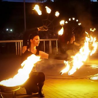 Ugnies šou. Pasirodymai su ugnimi / Ugnies Šokis / Darbų pavyzdys ID 95743