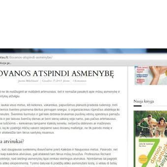 Laisvai samdoma žurnalistė Bulgarijoje / Justina Mikeliūnaitė / Darbų pavyzdys ID 96075