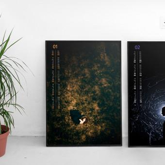 Sieninio kalendoriaus dizaino ir iliustracijų sukūrimas.