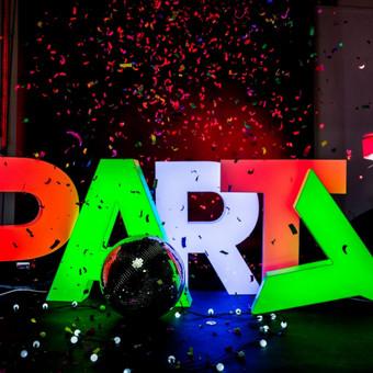 Lights&Letters šviesdėžės-raidės PARTY