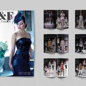 """Žurnalas """"Time & Fashion""""."""