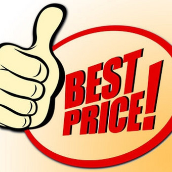 Geriausios medžiagų kainos garantija