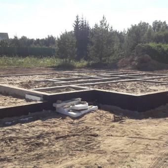 Pamatų įreng,tvoros ir visi betonavimo darbai.cfa. / Nikitka Stefanecas / Darbų pavyzdys ID 806715