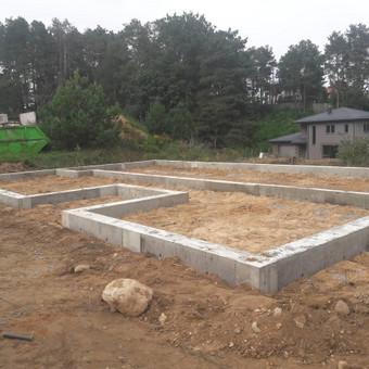 Pamatų įreng,tvoros ir visi betonavimo darbai.cfa. / Nikitka Stefanecas / Darbų pavyzdys ID 806727