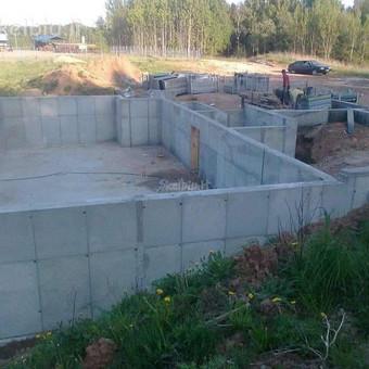 Pamatų įreng,tvoros ir visi betonavimo darbai.cfa. / Nikitka Stefanecas / Darbų pavyzdys ID 806743