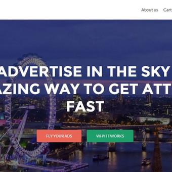 skylimitads .com - dronų paslaugų ir prekybos svetainė Anglija.