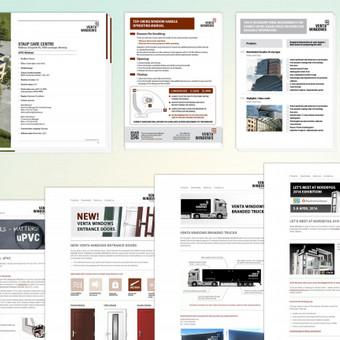 www.ventawindows.com | Klientas aptarnaujamas įvairiose dizaino srityse. Kuriamas naujienlaiškių dizainas, įvairūs baneriai, brošiūros, instrukcijos ir kt. Pagrindiniai reikalavimai kuriant dizainą - greitis, efektyvumas, profesionalumas. Bendradarbiaujama 2015 - 2016 m. | www.ventawindows.com