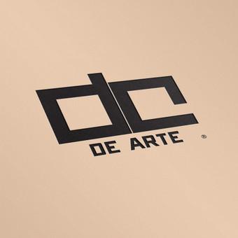 De Arte logotipo dizainas.