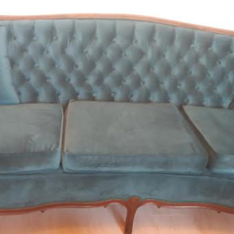 Minkštų baldų remontas / Baldų restauravimas / Darbų pavyzdys ID 820851