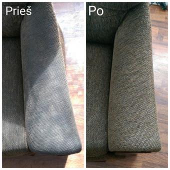 Kokybiškas minkštų baldų valymas, kilimų valymas! / Baldų valymas / Darbų pavyzdys ID 821307