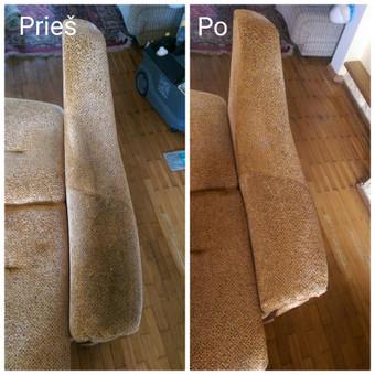 Kokybiškas minkštų baldų valymas, kilimų valymas! / Baldų valymas / Darbų pavyzdys ID 821309