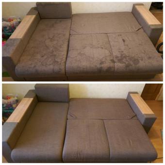 Kokybiškas minkštų baldų valymas, kilimų valymas! / Baldų valymas / Darbų pavyzdys ID 821313