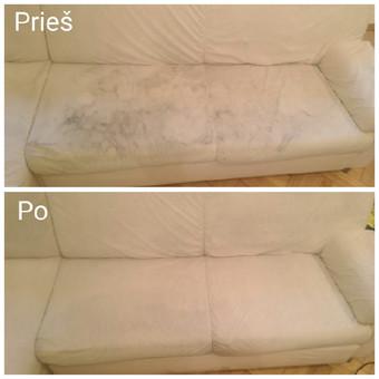 Kokybiškas minkštų baldų valymas, kilimų valymas! / Baldų valymas / Darbų pavyzdys ID 821315
