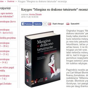 Knygos recenzijos vertimas iš anglų kalbos