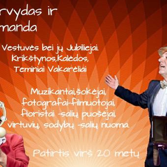 Vedėjas Arvydo Jaronskio iškilmės. Arvydas ir A5ko / ajaronskis7 / Darbų pavyzdys ID 824853