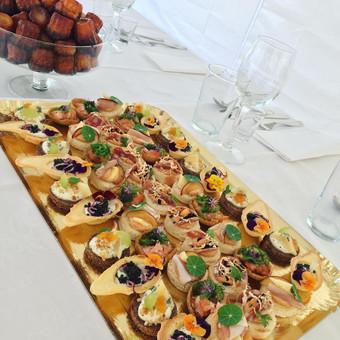 Vieno kąsnio užkandžiai, maistas Jūsų šventei / Peilis ir Šakutė / Darbų pavyzdys ID 826011