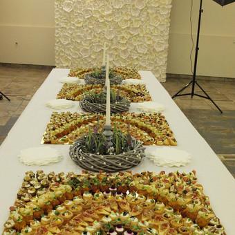 Vieno kąsnio užkandžiai, maistas Jūsų šventei / Peilis ir Šakutė / Darbų pavyzdys ID 826013
