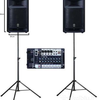 Garso aparaturos nuoma - Garso koloneliu nuoma / Šventinės įrangos nuoma / Darbų pavyzdys ID 827575