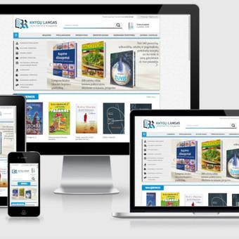 Interneto svetainių kūrimas    El. parduotuvių kūrimas / E-svetainė  Andrius / Darbų pavyzdys ID 827969