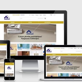 Interneto svetainių kūrimas    El. parduotuvių kūrimas / E-svetainė  Andrius / Darbų pavyzdys ID 827973
