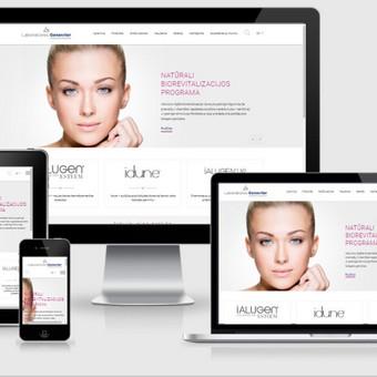 Interneto svetainių kūrimas    El. parduotuvių kūrimas / E-svetainė  Andrius / Darbų pavyzdys ID 827977