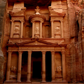 Petra, Jordanija. Nabatėjų miestas< UNESCO paveldas, Pasaulio stebuklas. Ekskursija iš Eilato rugsėjo - birželio mėn.