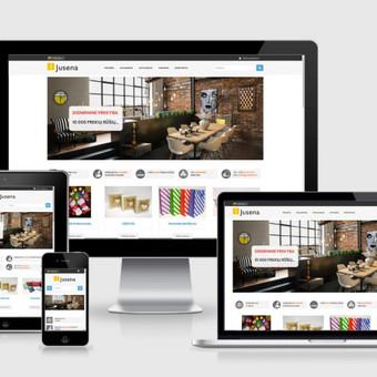Interneto svetainių kūrimas    El. parduotuvių kūrimas / E-svetainė  Andrius / Darbų pavyzdys ID 827987
