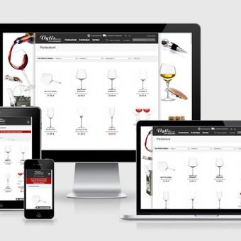 Interneto svetainių kūrimas    El. parduotuvių kūrimas / E-svetainė  Andrius / Darbų pavyzdys ID 827991
