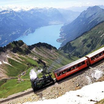 Šveicarija, Prancūzija, Neapolis, Madridas, Toledo, Barselona, lėktuvu ir traukiniais