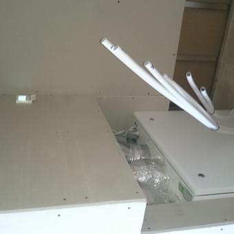 Patalpų rekuperacinė oro vėdinimo sistema.