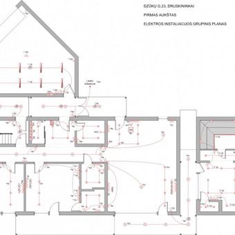 Elektros instal. darbai ir projektavimas / Tomas Kalinauskas / Darbų pavyzdys ID 98205