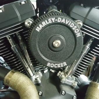 Motociklo oro filtro dangtelis