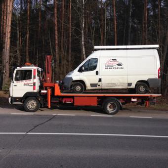 Techninė pagalba kelyje / Hempa Transportas / Darbų pavyzdys ID 98581