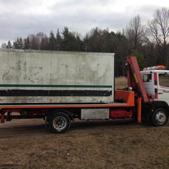 Techninė pagalba kelyje / Hempa Transportas / Darbų pavyzdys ID 98583