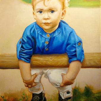 Vestuvių, krikštynų, gimtadienių portretų tapyba / Justinas Krasuckas / Darbų pavyzdys ID 506985
