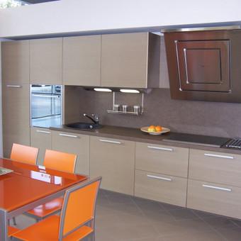 modernios virtuvės