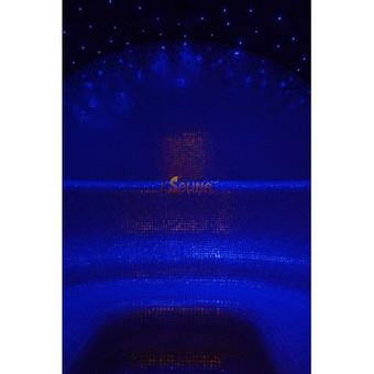 Garinė pirtis Doviluose Garinės pirties gultų, sienų bei lubų formos gamintos individualiai iš specialaus ekstrūdinio polistirolo. Apdaila - mozaikinės plytelės. Apšvietimo sistema - žvai ...