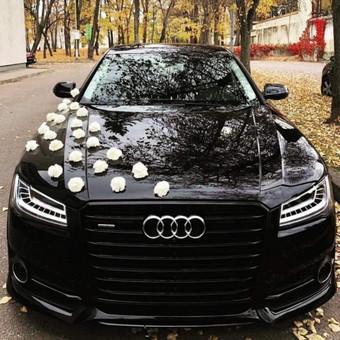 Prabangiu Audi A8 Long Nuoma Vestuvėms / a8nuoma / Darbų pavyzdys ID 853939