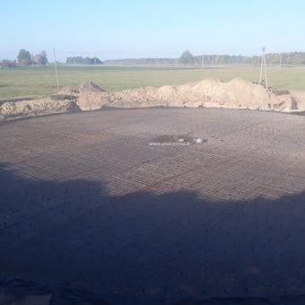 Plokštuminių pamatai, pagrindo paruošimas, betonavimas / MB Šilti pamatai / Darbų pavyzdys ID 854269
